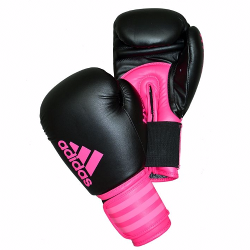 Adidas Hybrid 100 Womens Boxing Gloves - Pink